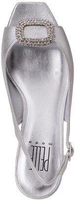 Pelle Moda Fresca Silver Leather