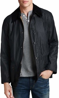 Barbour Ashby Tailored Waxed Cotton Coat $399 thestylecure.com
