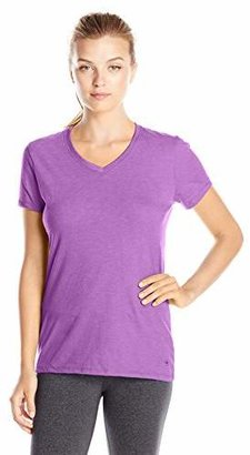 Champion Women's Jersey V-neck Tee $8.02 thestylecure.com