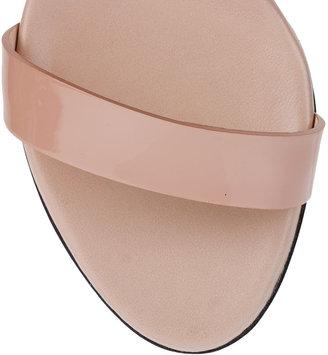 Emilio Pucci Buckle detail leather sandal