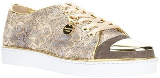 Gianmarco Lorenzi Collector lace trainer