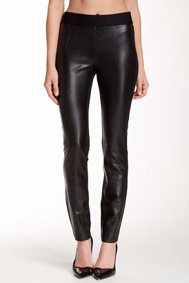 NYDJ Ponte Faux Leather Leggings