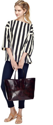 Marni Striped Oversized Cotton Top