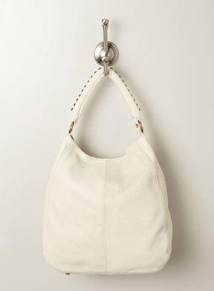 Linea Pelle Maya Large Studded Handle Leather Shoulder Bag