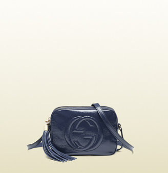 Gucci Soho Soft Patent Leather Disco Bag