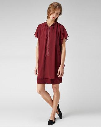 Tsumori Chisato ruffle sleeve shirtdress