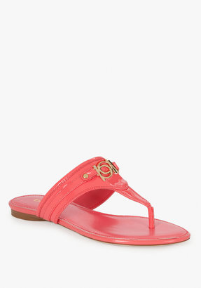 Bebe Aria Coral Logo Sandal