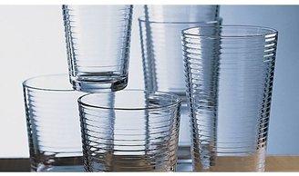 Crate & Barrel Rings Cooler Glass