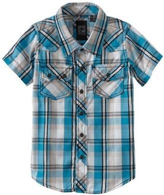 Micros Boys 2-7 Focus Toddlers Plaid Shirt