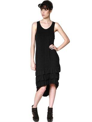 Y-3 Ruffled Tencel Jersey Dress