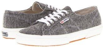Superga 2750 Herring1U (White/Black) - Footwear