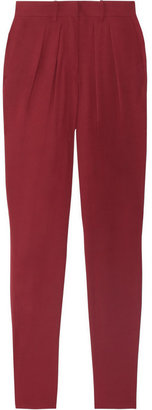 Isabel Marant Ricco georgette tapered pants