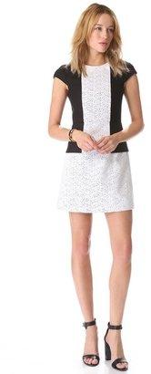 Tibi Carey Seamed Dress
