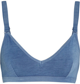 BASE Range Stretch-bamboo soft-cup bra