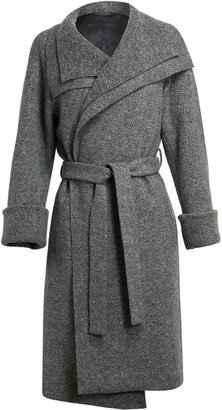 The Row Flecked Wool Trench Coat