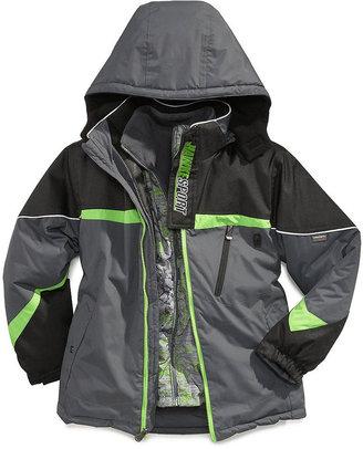 Hawke & Co Kids Jacket, Boys 4-in-1 Systems Jacket