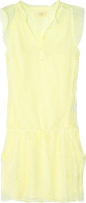 Vanessa Bruno Cotton and silk-chiffon dress