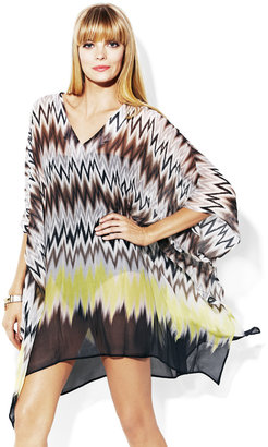 Vince Camuto The Beverly Zig Zag-Tunic