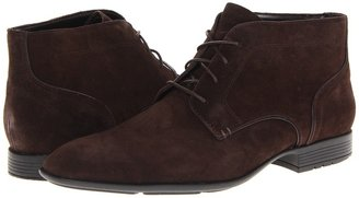 Rockport Dialed In Chukka (Chocolate Suede) - Footwear