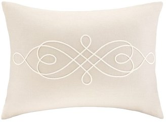 Madison park embroidered oblong decorative pillow - 14'' x 20''