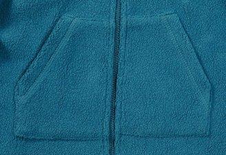Zutano Cozie Fleece Zip Hoodie - Pagoda- 4T