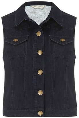 Dorothy Perkins Rinse wash denim gilet