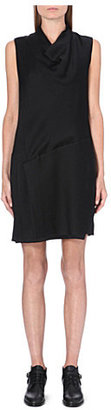 Helmut Lang Cowl neck textured dress