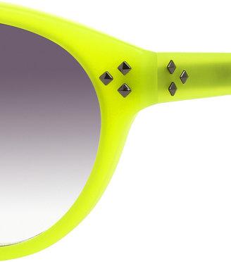 Matthew Williamson Linda Farrow for Cat-eye acetate sunglasses