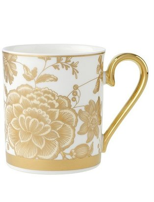 "Villeroy & Boch Golden Garden"" Flowers Mug"