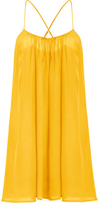 Princesse Tam-Tam Sunflower Silk Cami Dress