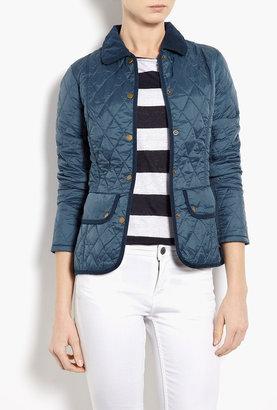 Barbour Vintage Blue Quilt Jacket
