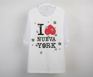 3.1 Phillip Lim T-Shirt With Embroidery