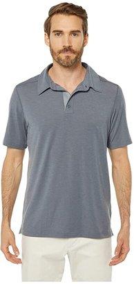 Marmot Wallace Polo (Steel Onyx Heather) Men's Short Sleeve Pullover