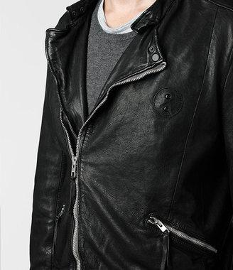 AllSaints Griff Leather Biker Jacket