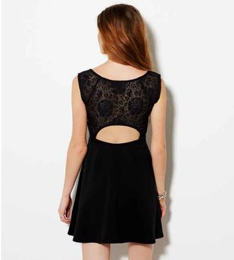 American Eagle AE Lace Back Party Dress