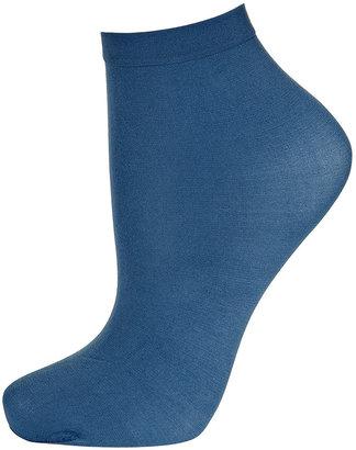 Topshop Denim Ankle Pop Socks