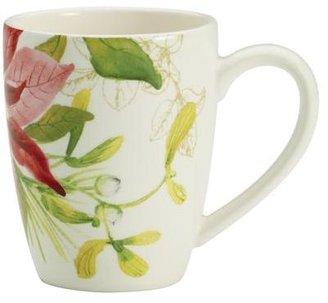 Paula Deen 4-pc. Holiday Floral Mug Set