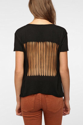 Urban Outfitters Truly Madly Deeply Slash-Back Tee