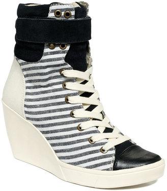 Nine West Original Sneakers, Perri Wedge Lace Up Sneakers