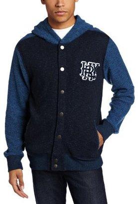 Hurley Men's Retreat Grade Fleece Hooded Jacket