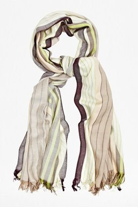 French Connection Vertical Striped Scarf