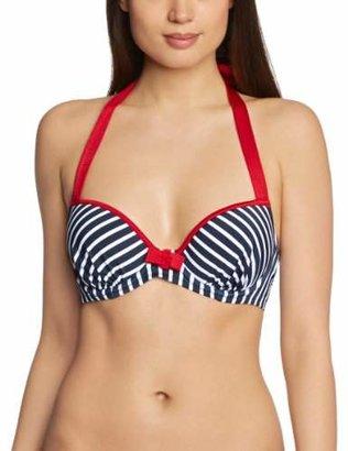 Pour Moi? Women's Ahoy Padded Top Bikini,36F