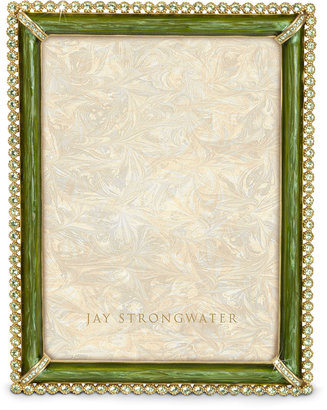 Jay Strongwater Lucas Stone-Edge Picture Frame