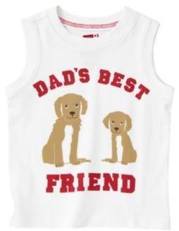 Crazy 8 Dads Best Friend Puppy Tank