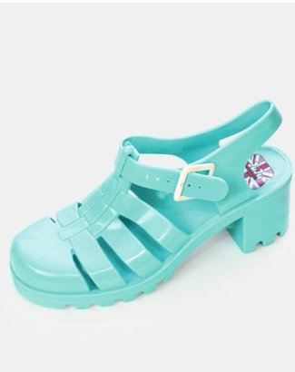 JuJu Ju Ju Babe Heel Jelly Sandals