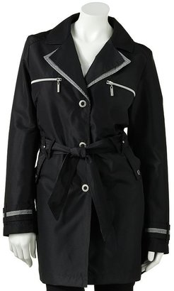 Weathercast trench raincoat