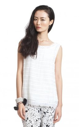Tracy Reese Tie Back Blouse