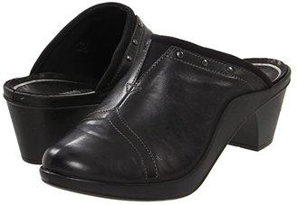 Romika Mokassetta 271 (Black) Women's Clog Shoes