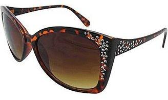 Cat Eye Embellished Cat-Eye Sunglasses