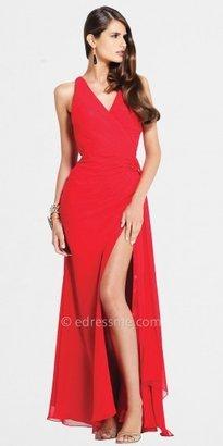 Faviana Affordable-V-Neck- Prom Dress